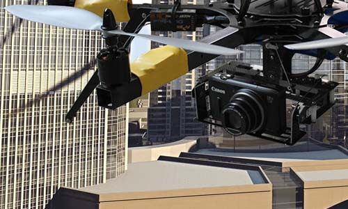 Drone for Real Estate Marketing