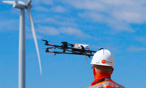 Electric utilities using drones