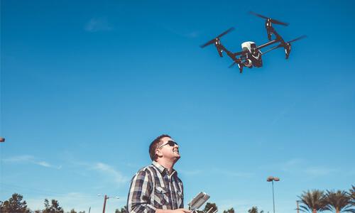 Electric Utility Drones